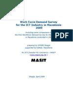 Workforce Demand Survey 2009 Narative Report MASIT