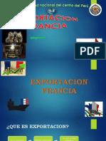 EXPORTACIÓN A FRANCIA