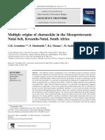 Multiple Origins of Charnockite in the Mesoproterozoic