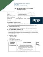Contoh RPP Akatirta