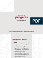 American Progress Annual Report 2010