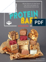 DIY Protein Bars Cookbook 2014