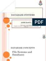 1 File Systems and Databases _chapter 1