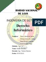 Proyecto Final - Derecho Informático