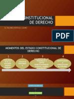 Estado Constitucional de Derecho