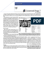 Crossword Forge Manual