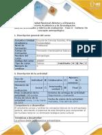 Guía de actividades y rúbrica de evaluación - Fase 3 - Cultura un concepto antropológico.docx