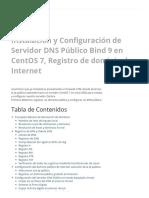Centos 7 DNS