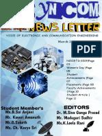 Newsletter Ece March 2019.