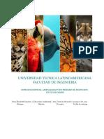 Especies en Extincion, Amenaza en El Salvador