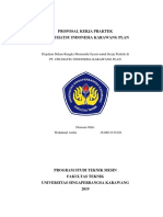 Proposal Kerja Praktek PT CHUHATSU INDONESIA KARAWANG PLAN.docx