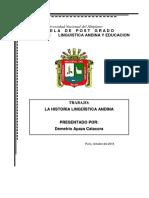 DESARROLLO HISTORICO DE LAS LENGUAS ANDINAS.docx