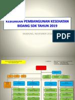 Kebijakan Sdk Tahun 2019