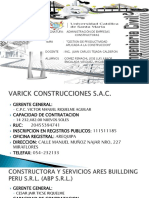 DIAPOSITIVAS  Admi de Empresas Constructoras