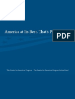 American Progress Marketing Brochure