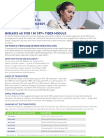 AG5900 Fiber Module Datasheet