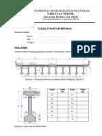 Tugas Struktur Beton 3 UMM