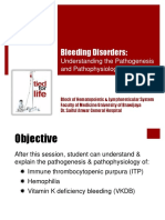10b. Pathogenesis & Pathophysiology of Bleeding Disorders (KELAS B)
