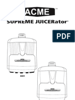 Acme Juicer Manual