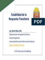 8- IE415 (Estabilidad de Respuesta Transitoria).pdf