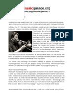 Jazzgarage Press Release Aug 1 2016