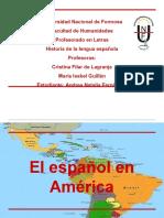 Examen Final de Historia Del Español