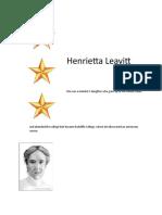 Henrietta Leavitt Ppt