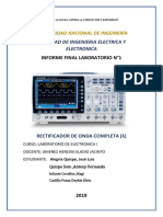 Informe Final N°1 L.Electronica I