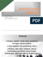 PPT RUPTUR UTERI IMMINENS (Kelompok 4) 3.ppt