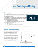 Cooling Tower Pump and Piping