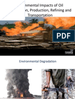 Impacts of oil and gas