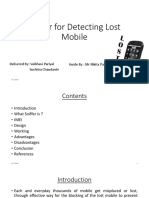Sniffer for Detecting Lost Mobile (1)