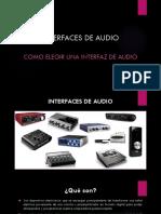 Interfaces de Audio - Protocolos