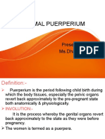new NORMAL PUERPERIUM.ppt