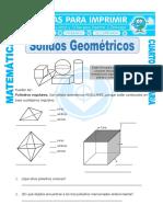 Solidos Geometricos Para Cuarto de Primaria