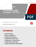 eNodeb Typical configuration Process(Using MML command) -.pptx