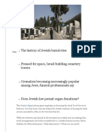 A guide to jewish shiva