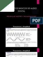 Conceptos de Audio Digital II