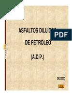 asfaltos diluídos do petróleo Para Construcao Civil