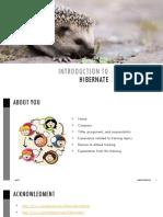 Hibernate v1.1