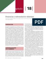 Cap 18 - Demencias y Alzheimer (Bruna Rehab.)