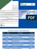 Event Calendar 2019
