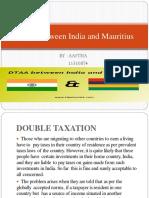 DTAA Between India and Mauritius