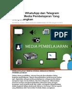 Merubah WhatsApp dan Telegram Menjadi Media Pembelajaran Yang Menyenangkan.docx