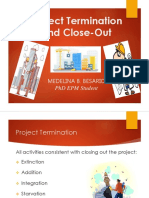 Project Termination and Close- Out