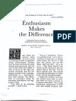 RDI Enthusiasm