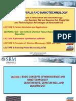 Nano technology for 1D,2D,3D