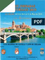 Programación de las XXXII Jornadas Culturales 2019 de la Casa Regional de Castilla y León de Coslada