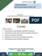 Kebijakan Akreditasi Fktp, Cilandak 27 Oktober 2015