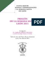 Pregón Semana Santa de León 2007